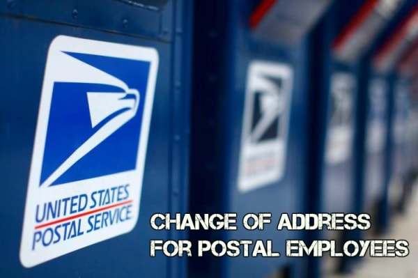 Change of address for postal employees