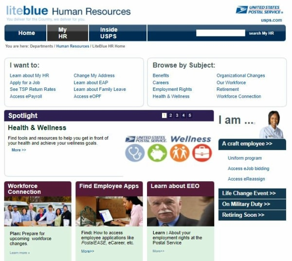 USPS Gov Human Resources