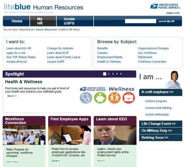 USPS Gov Human Resources