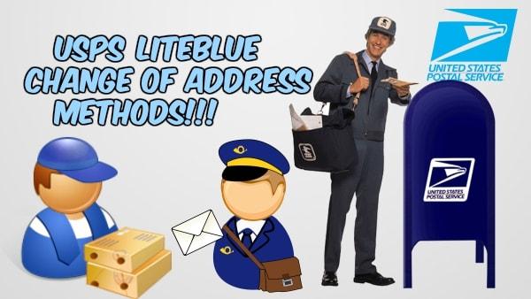 USPS Liteblue change of address